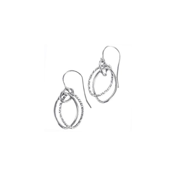10KT Textured Shepherd Hook Earrings Meigs Jewelry Tahlequah, OK