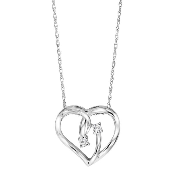 Sterling Silver Heart Necklace Meigs Jewelry Tahlequah, OK