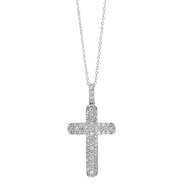 Sterling Silver Cross Necklace Meigs Jewelry Tahlequah, OK