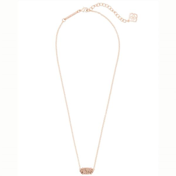 Kendra Scott Rose Drusy Ever Necklace Image 2 Meigs Jewelry Tahlequah, OK