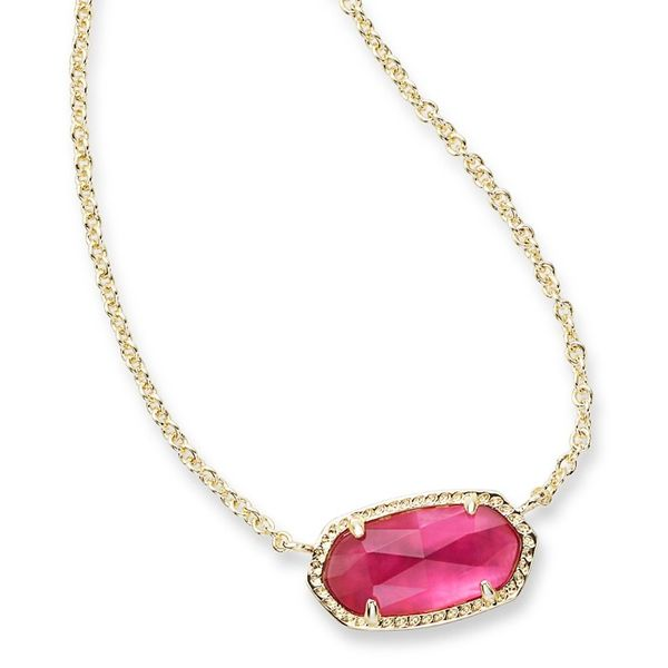 Kendra Scott Elisa Pendant Necklace In Berry Meigs Jewelry Tahlequah, OK