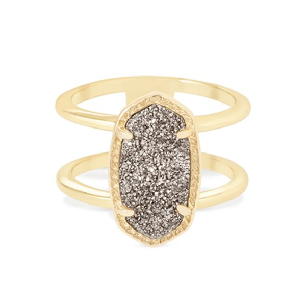 Kendra Scott Elyse Ring In Gold Meigs Jewelry Tahlequah, OK