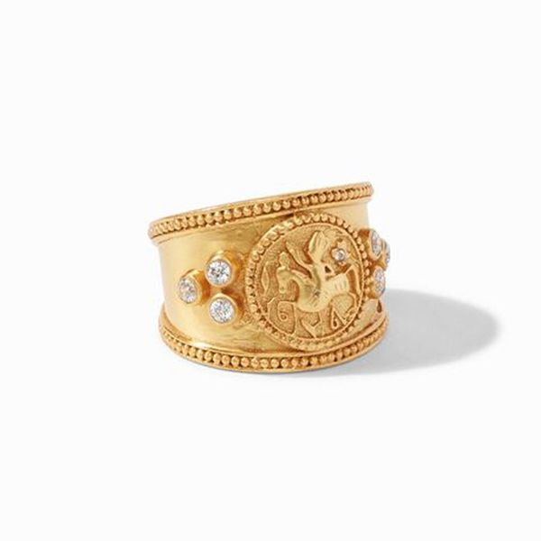 Julie Vos Coin Crest Ring Meigs Jewelry Tahlequah, OK