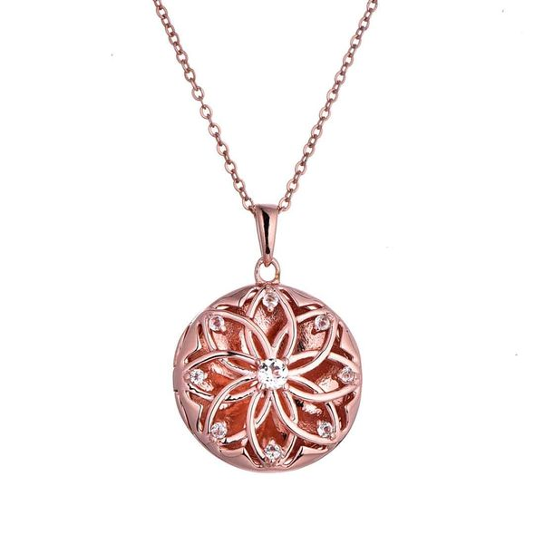 Rose Gold Plated Helen Locket Necklace Meigs Jewelry Tahlequah, OK
