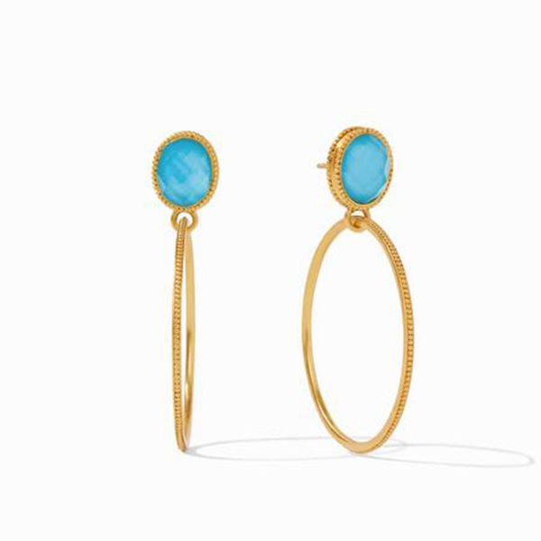 Verona Statement Earring Pacific Blue Meigs Jewelry Tahlequah, OK