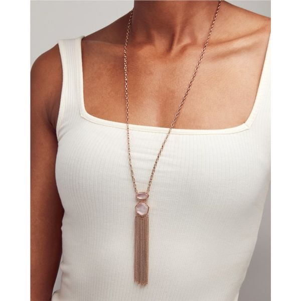 Kendra Scott Long Tae Necklace Image 2 Meigs Jewelry Tahlequah, OK