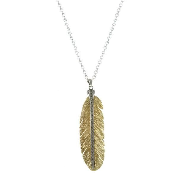 TAT2 Feather Necklace Meigs Jewelry Tahlequah, OK