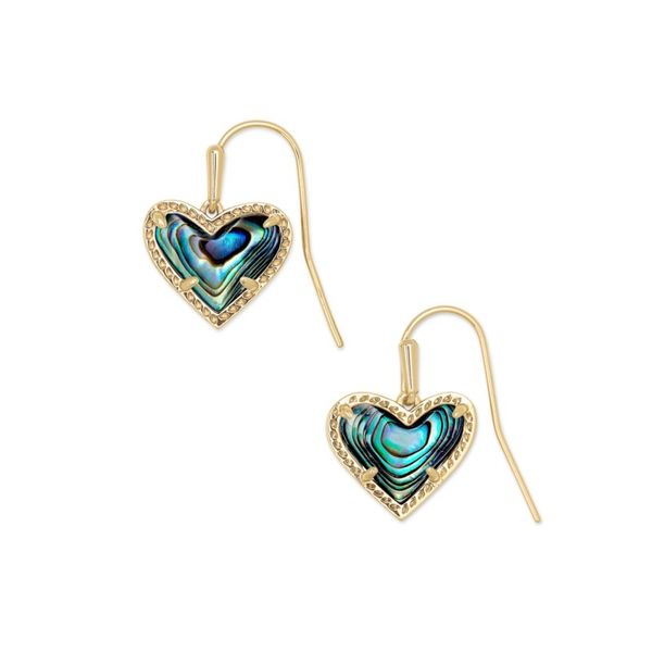 Kendra Scott Ari Heart Drop Earrings Meigs Jewelry Tahlequah, OK