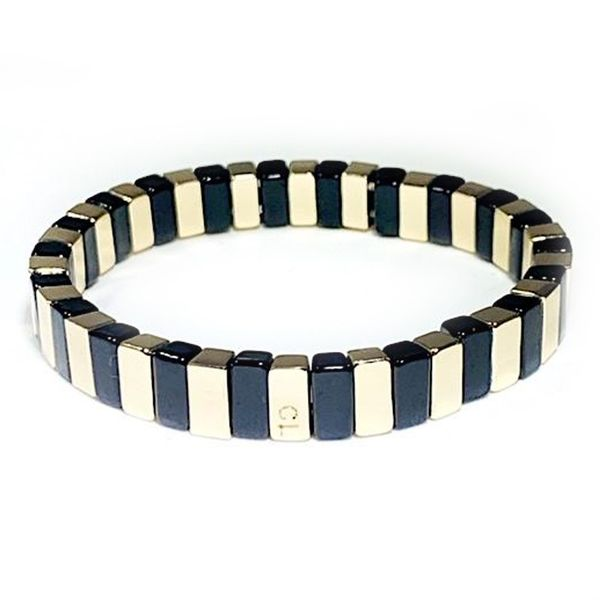 Caryn Lawn Black and Gold Bracelet Meigs Jewelry Tahlequah, OK