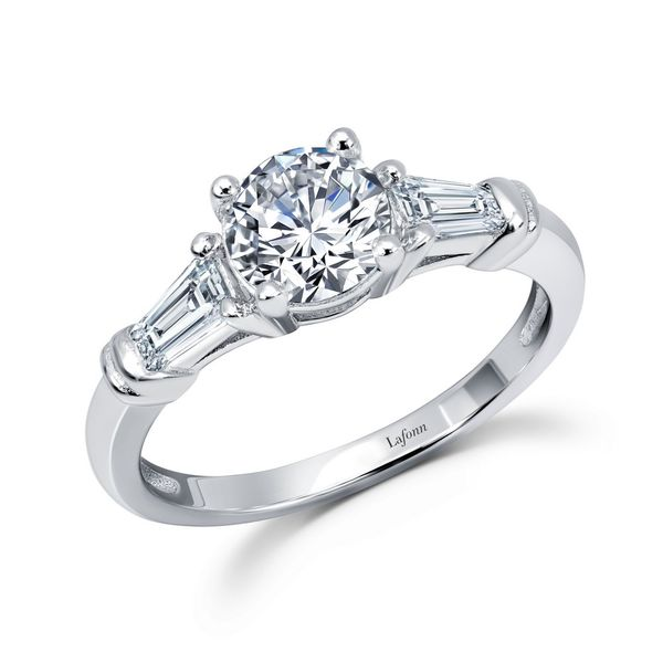 Lafonn Simulated Diamond Engagement Ring Meigs Jewelry Tahlequah, OK