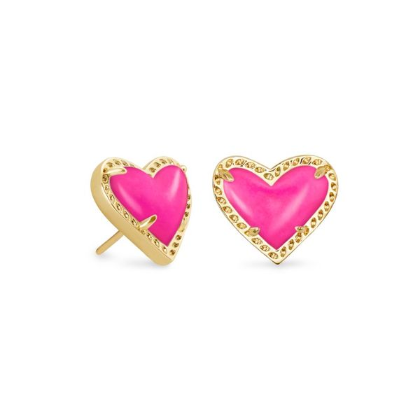 Kendra Scott Ari Heart Stud Earrings Meigs Jewelry Tahlequah, OK