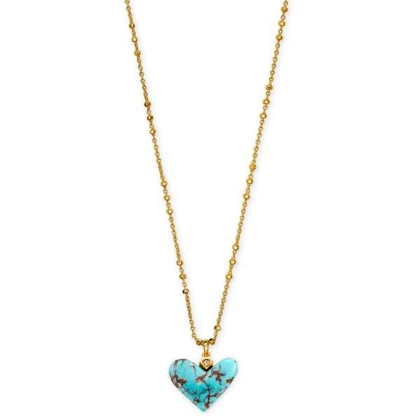 Kendra Scott Turquoise Poppy Necklace Meigs Jewelry Tahlequah, OK