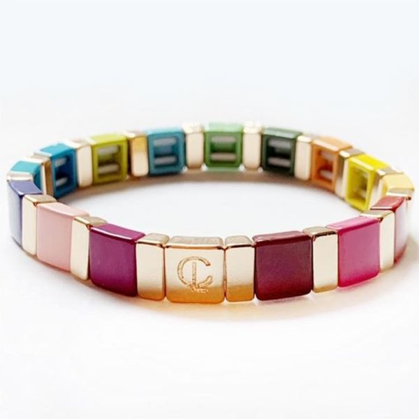 Caryn Lawn Rainbow and Gold Bracelet Meigs Jewelry Tahlequah, OK