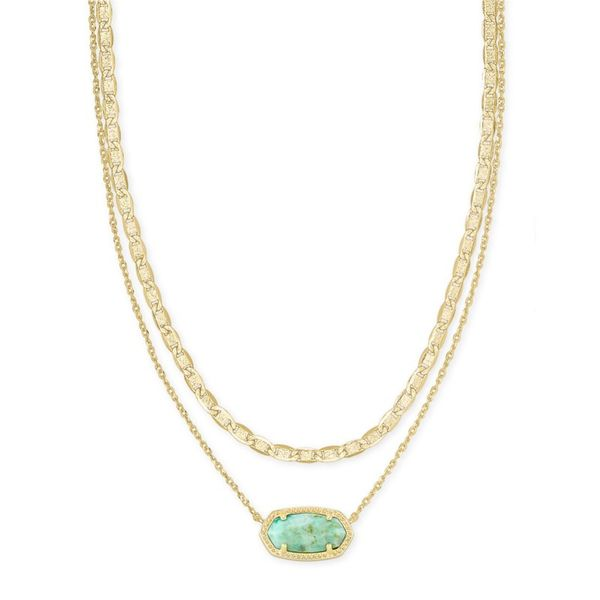 Kendra Scott Multi Strand Elisa Necklace Meigs Jewelry Tahlequah, OK