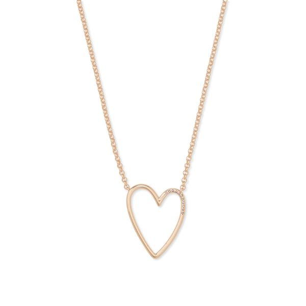 Kendra Scott Ansley Heart Necklace Meigs Jewelry Tahlequah, OK