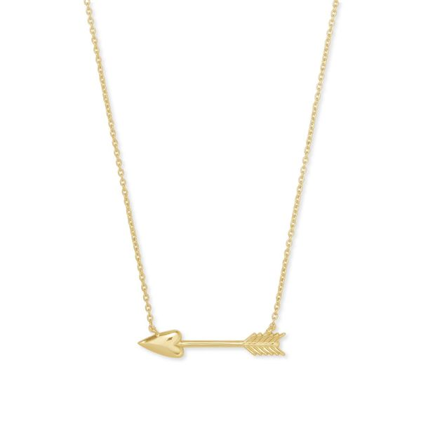 Kendra Scott Short Zoey Arrow Necklace Meigs Jewelry Tahlequah, OK
