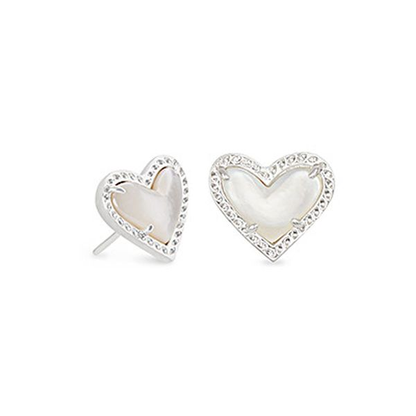 Kendra Scott Heart Stud Earrings Meigs Jewelry Tahlequah, OK