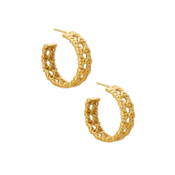 Kendra Scott Natalie Hoop Earrings Meigs Jewelry Tahlequah, OK