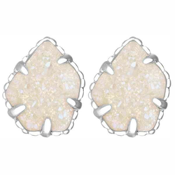 Kendra Scott Tessa Drusy Stud Earrings Image 2 Meigs Jewelry Tahlequah, OK
