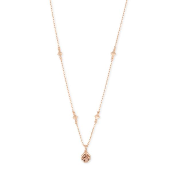 Kendra Scott Short Nola Rose Drusy Necklace Meigs Jewelry Tahlequah, OK