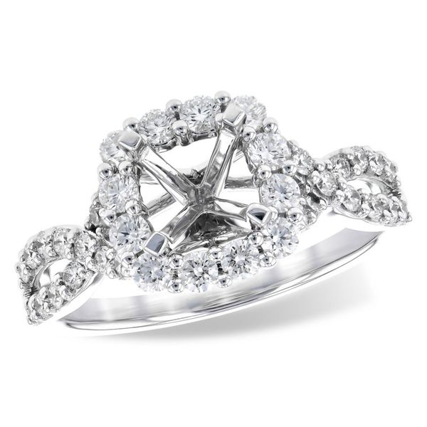 Diamond Semi-Mount Ring Miller's Fine Jewelers Moses Lake, WA