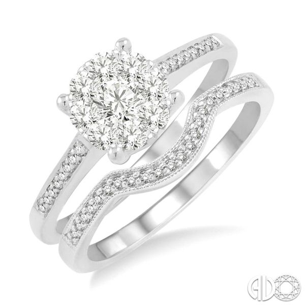 Diamond Wedding Set Miner's North Jewelers Traverse City, MI
