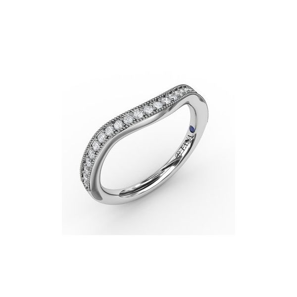 Contour Diamond band Miner's North Jewelers Traverse City, MI