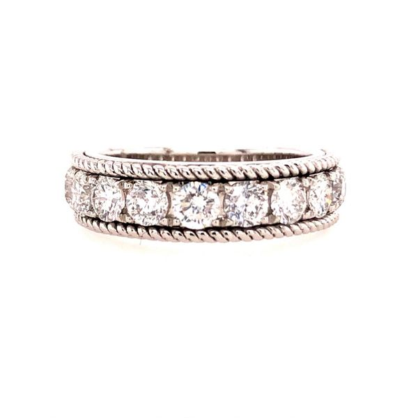 Lakeshore Diamond Wedding Band Miner's North Jewelers Traverse City, MI