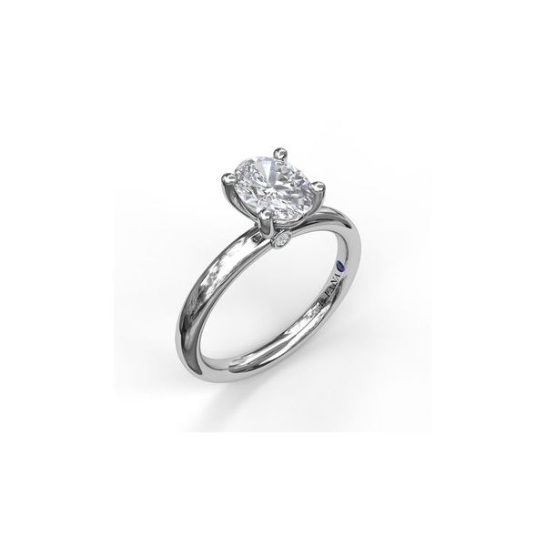 Classic Solitaire Ring Miner's North Jewelers Traverse City, MI