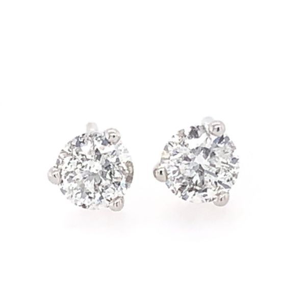 Lakeshore Diamond Diamond Earrings Miner's North Jewelers Traverse City, MI