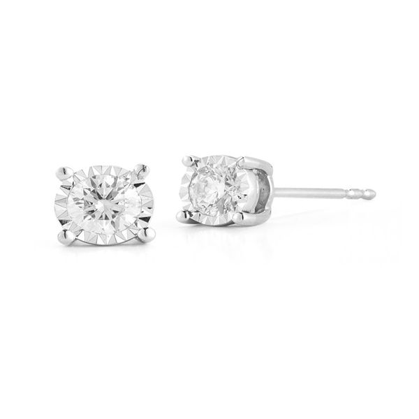 Diamond Earrings Miner's North Jewelers Traverse City, MI
