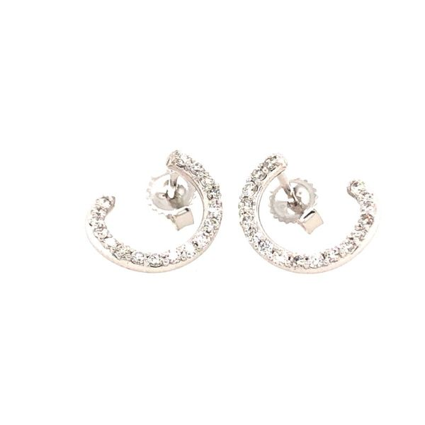 Carbon & Hyde Diamond Earrings Miner's North Jewelers Traverse City, MI
