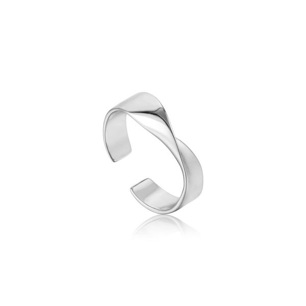 Silver Helix Adjustable Ring Miner's North Jewelers Traverse City, MI