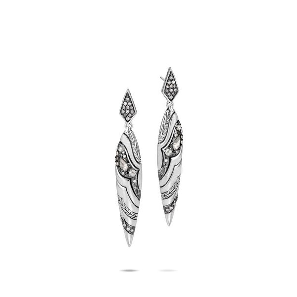 John Hardy Silver Earrings Miner's North Jewelers Traverse City, MI