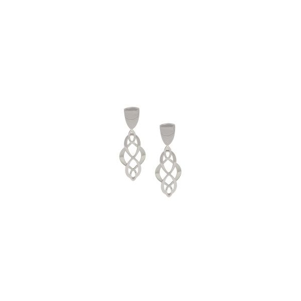 Frederic Duclos Silver Earrings Miner's North Jewelers Traverse City, MI