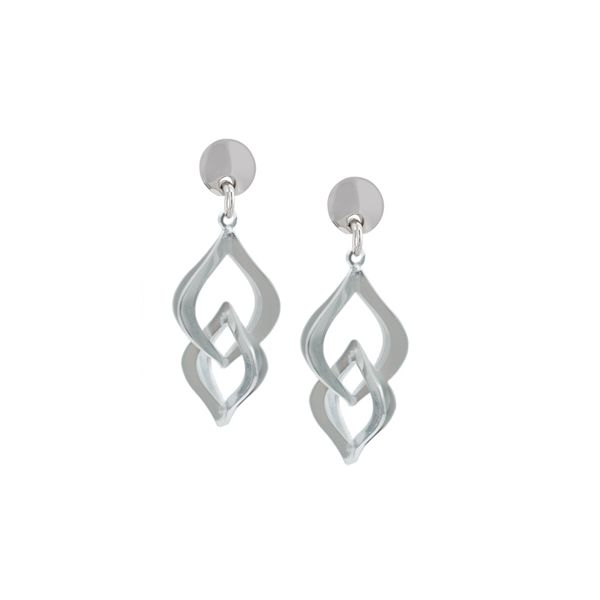 Silver Earrings Miner's North Jewelers Traverse City, MI