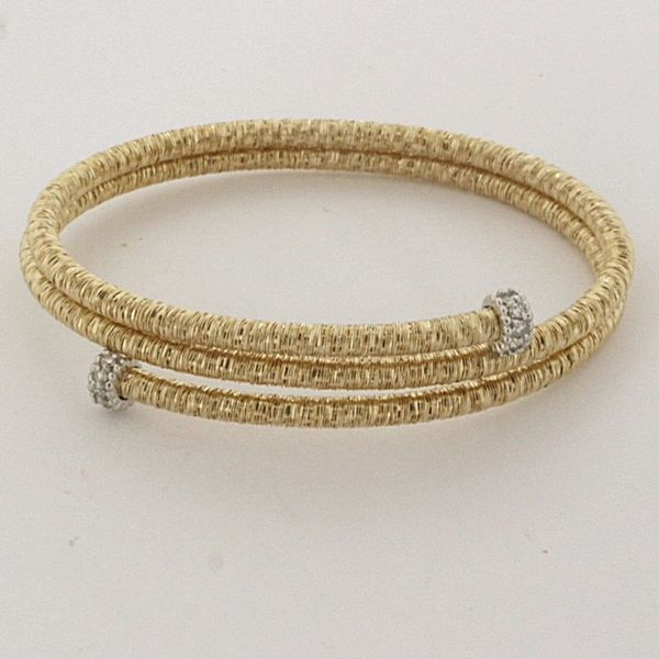 Piero Milano Yellow Gold and Diamond Bracelet Mitchell's Jewelry Norman, OK