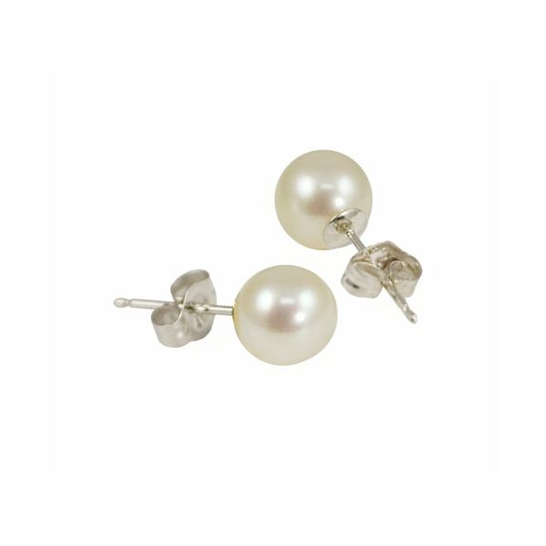 Pearl Stud Earrings Mitchell's Jewelry Norman, OK