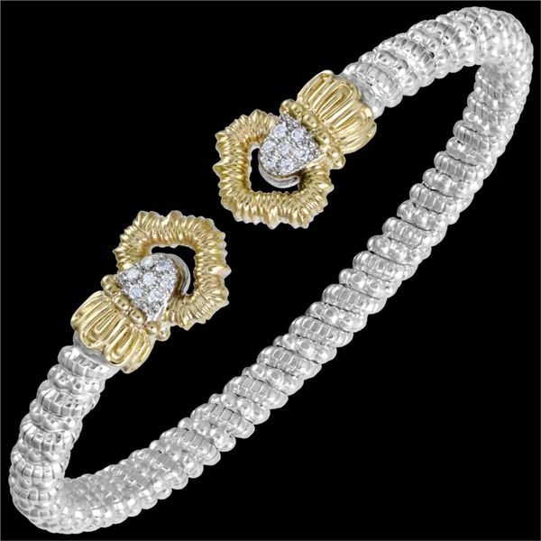 Silver/Gold/and Diamond Bracelet Mitchell's Jewelry Norman, OK