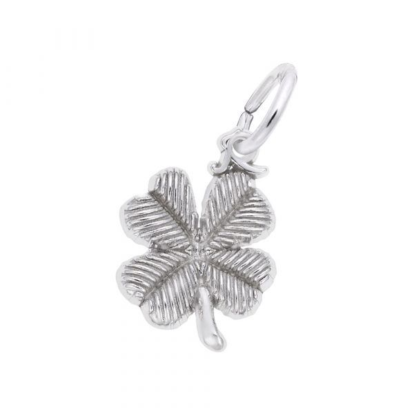 Four Leaf Clover Accent Charm Mitchell's Jewelry Norman, OK