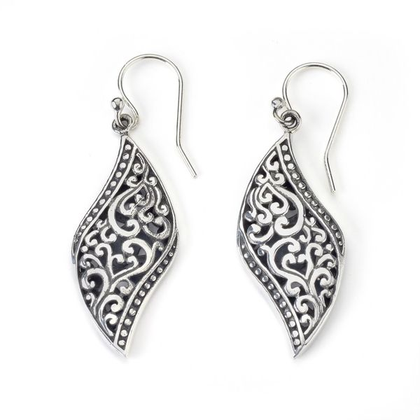 Samuel B. Sterling Silver Bali Earrings Mitchell's Jewelry Norman, OK