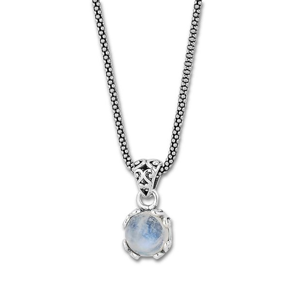 Moonstone Pendant on Chain Mitchell's Jewelry Norman, OK