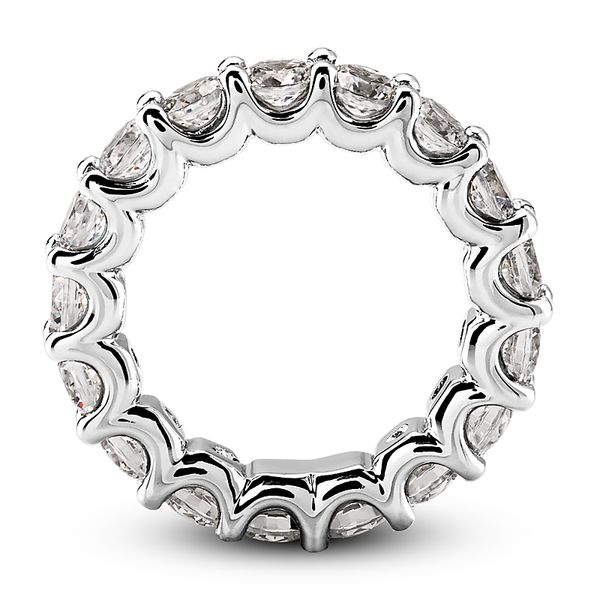 .05 Diamond Eternity Band Image 2 Mollys Jewelers Brooklyn, NY