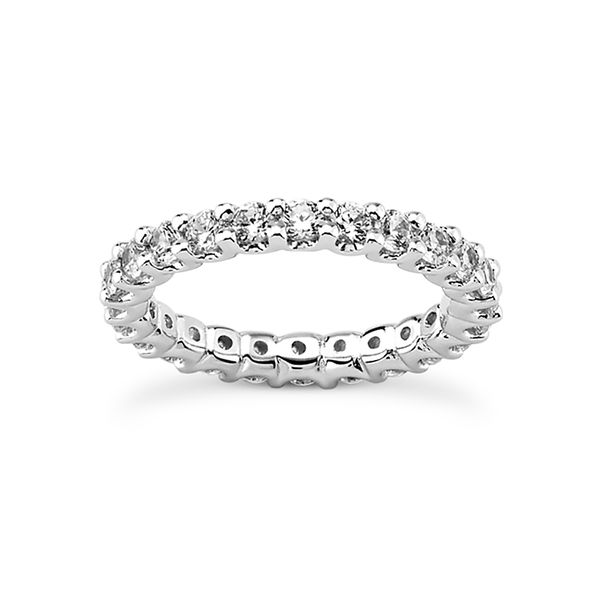 .05 Diamond Eternity Band Mollys Jewelers Brooklyn, NY