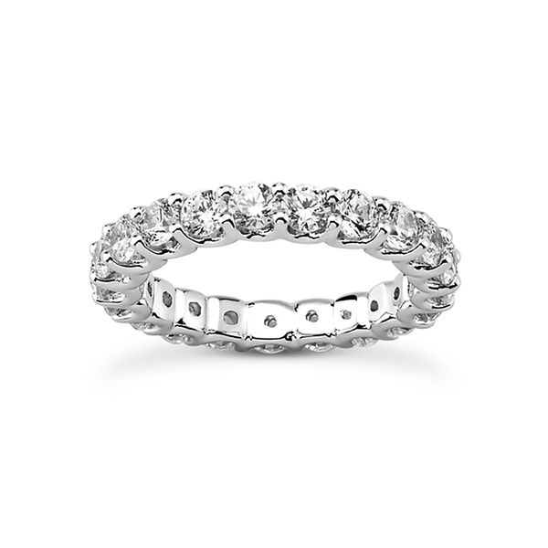 .10 Diamond Eternity Band Mollys Jewelers Brooklyn, NY