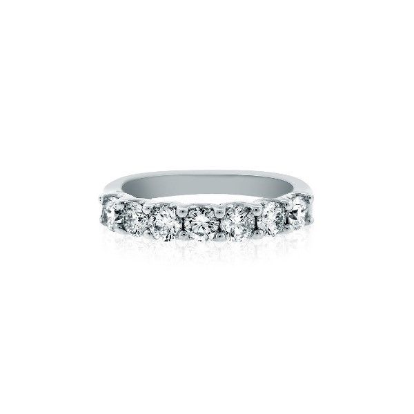 Diamond Wedding Band With 7  Of .15Ct Round Diamonds Mollys Jewelers Brooklyn, NY
