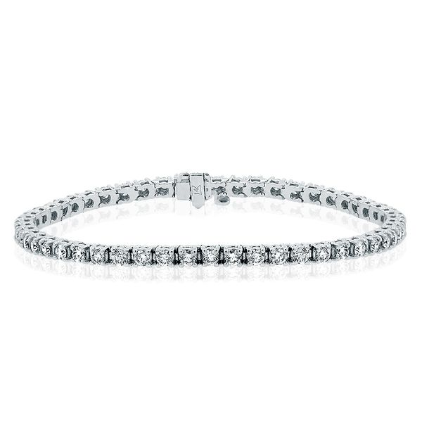 2.80 Carat Tennis Bracelet Molly's Jewelers Brooklyn, NY
