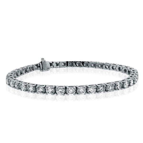 14.40 Carat Diamond Tennis Bracelet Mollys Jewelers Brooklyn, NY