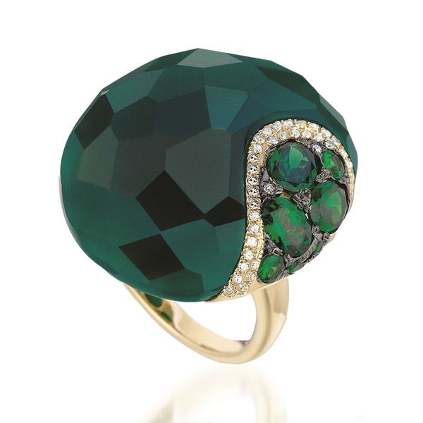Color stone Ring Mollys Jewelers Brooklyn, NY