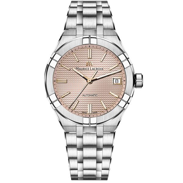 Maurice Lacroix Watch AIKON Automatic 39mm AI6007-SS002-731-1 Mollys Jewelers Brooklyn, NY